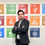 Ahmet Yoruklu interning at the United Nations Global Compact.