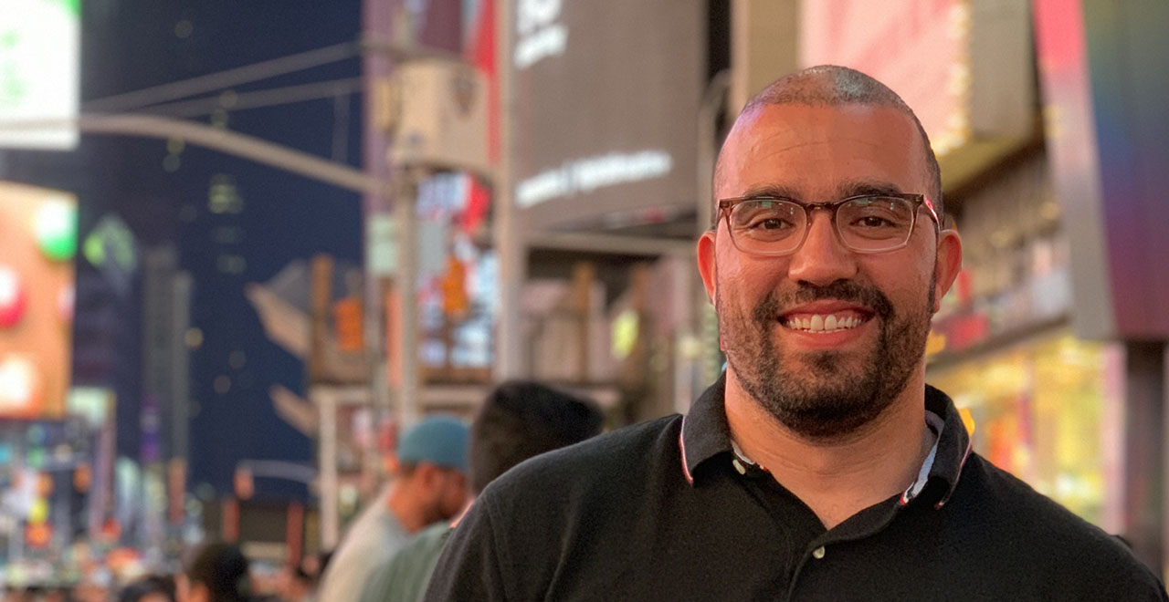 Fulbright Scholar and Algerian Journalist Houssam Eddine Beggas
