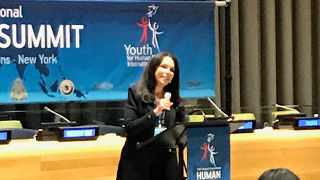 Paula Franzese, Law Professor Presents at UN Human Rights Summit