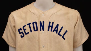 Seton Hall University Baseball Jersey  wool flannel